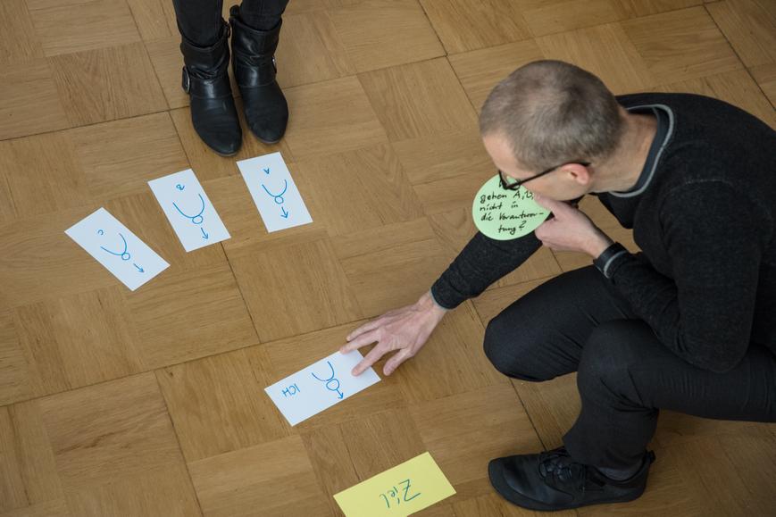 Organisationsaufstellung der staffadvance GmbH