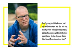 Stefan Fuchs im Gespräch über Transformation